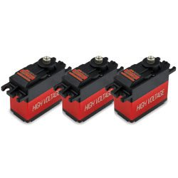 Image 0 of JR DS8917HV HV Ultra Speed Cyclic Servo Set (3)