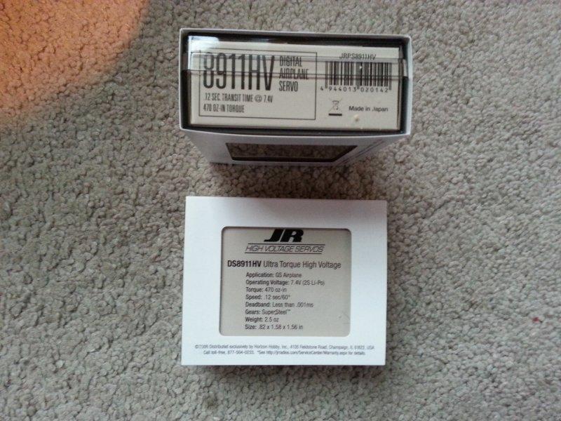Image 2 of JR DS8911HV High-Voltage Ultra Torque Servo