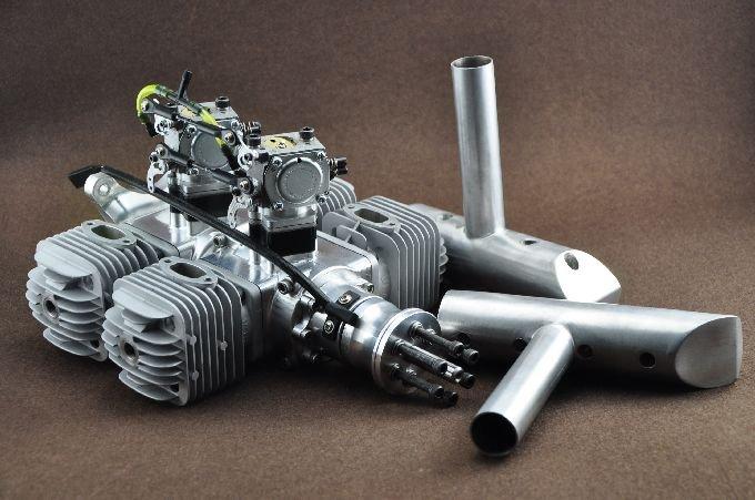 Image 0 of DLA 128cc 4 Cylinder Gasoline aircraft engine