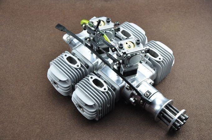 Image 1 of DLA 128cc 4 Cylinder Gasoline aircraft engine