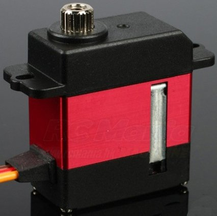 Image 1 of MKS DS92 Titanium Gear High Speed Micro Digital Helicopter Cyclic Servo