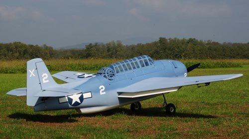 Image 1 of Scale Grumman TBF Avenger 98 inch w.s.