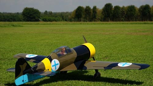 Image 0 of Giant Scale Fokker DXXI 87 inch w.s.