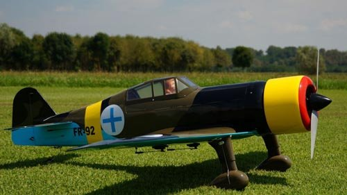 Image 1 of Giant Scale Fokker DXXI 87 inch w.s.