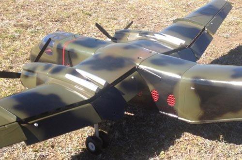 Image 2 of DE Havilland DHC-4 Caribon 98 inch w.s.