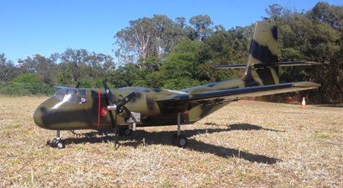Image 3 of DE Havilland DHC-4 Caribon 98 inch w.s.