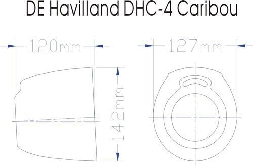 Image 5 of DE Havilland DHC-4 Caribon 98 inch w.s.