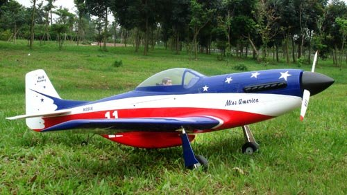 Image 1 of Giant Scale P-51D Mustang Miss America
