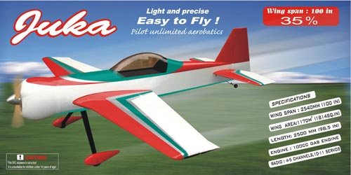 Image 2 of Juka 100 inch w.s. 80-100cc