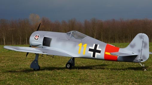 Image 1 of Giant Scale FW 190 83.5 in