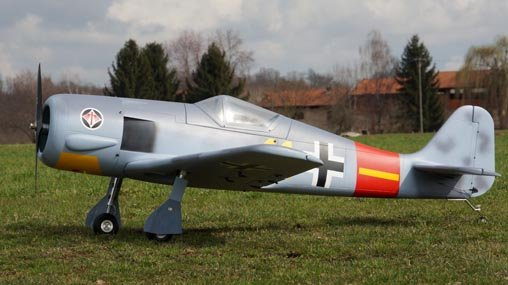 Image 2 of Giant Scale FW 190 83.5 in