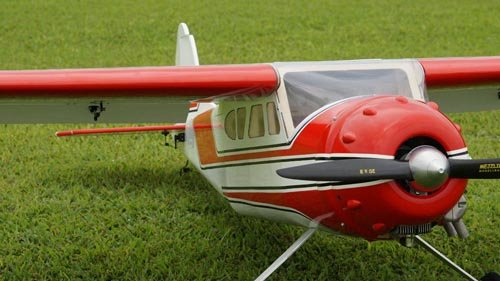 Image 3 of Giant Scale Cessna 195 90 in