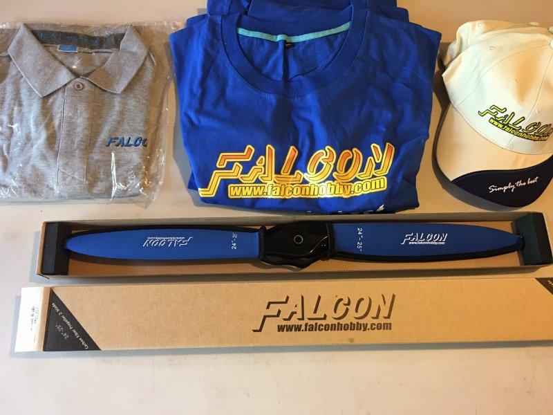 Image 0 of  Falcon Carbon Fiber 24x9 w/neoprene prop covers