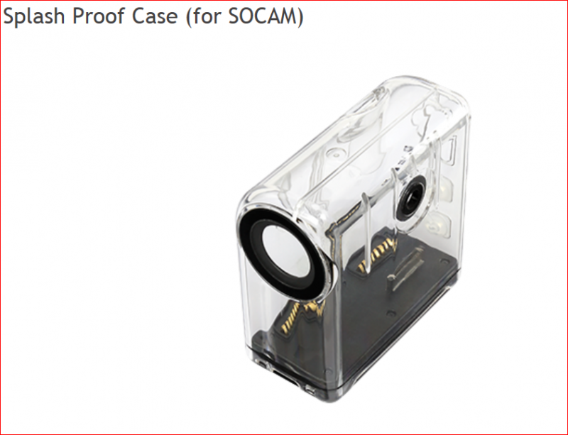 Image 1 of RC Logger SOCAM action camera (Black UltiMate)