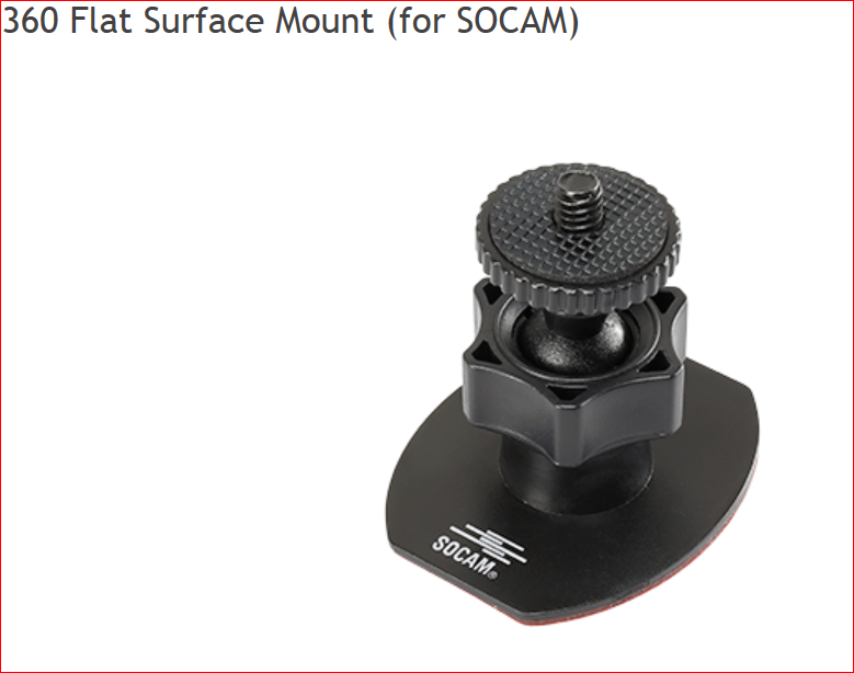 Image 2 of RC Logger SOCAM action camera (Black UltiMate)