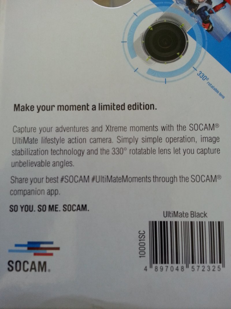 Image 7 of RC Logger SOCAM action camera (Black UltiMate)