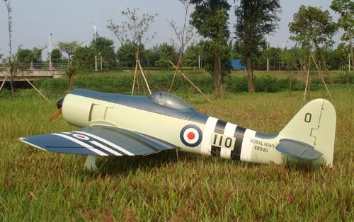 Image 1 of Giant Scale Hawker Sea Fury 95.2 in