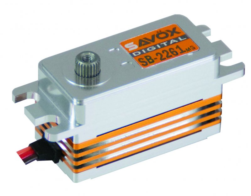 Image 0 of Savox 2261MG LOW PROFILE BRUSHLESS DIGITAL SERVO 0.076/138.9 @6.0V