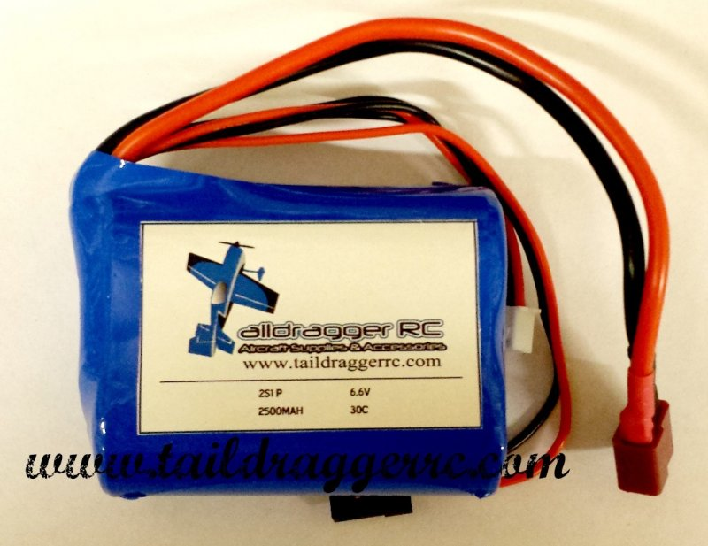 Image 3 of Genuine A123 LiFePO4 2-cell 6.6V battery pack 2500 MAH Battery Pack