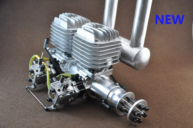 Image 5 of DLA 116 Inline Twin Gasoline aircraft engine