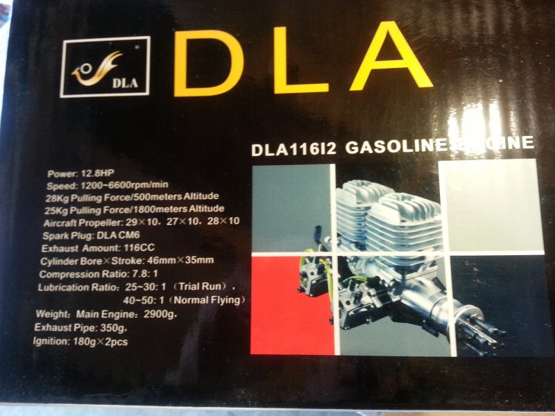 Image 10 of DLA 116 Inline Twin Gasoline aircraft engine