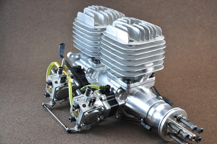 Image 6 of DLA 116 Inline Twin Gasoline aircraft engine