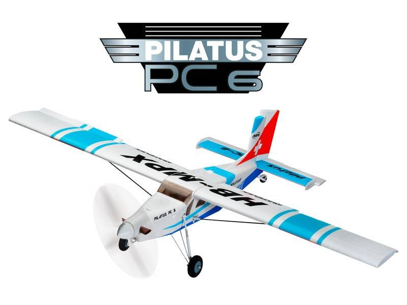 Image 0 of Multiplex Pilatus PC-6 Turbo Porter EP RR Blue 49.2