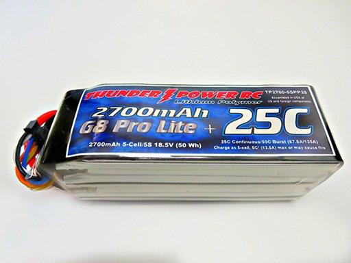 Image 0 of 2700mAh 5-Cell/5S 18.5V G8 Pro Lite+ 25C LiPo