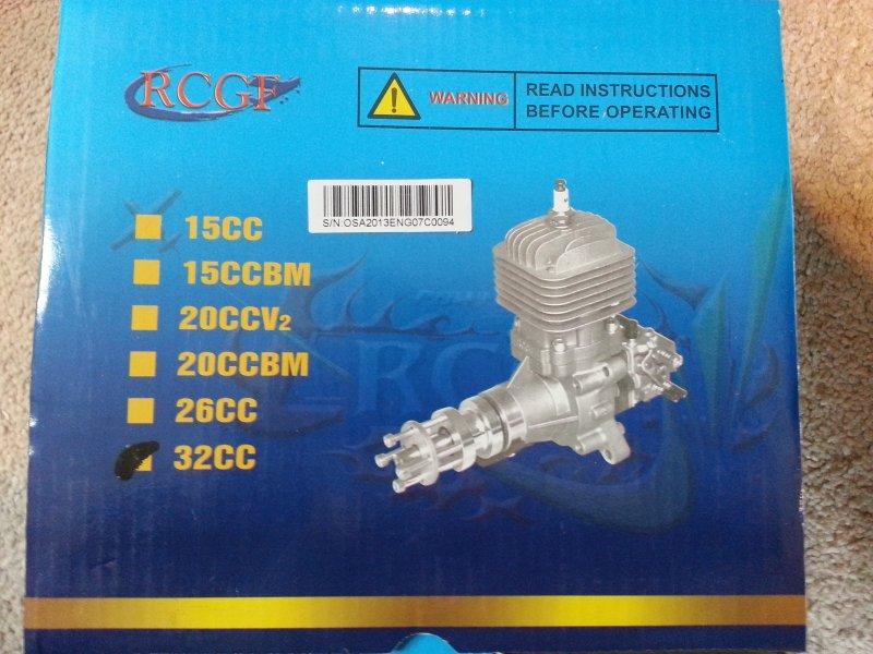 Image 1 of RCGF 32CC Gas Engine