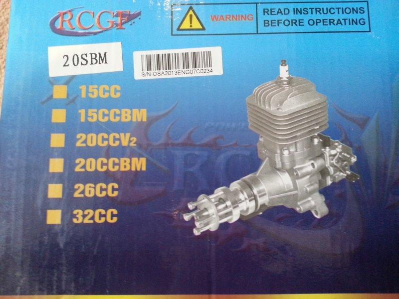 Image 1 of RCGF 20cc SBM