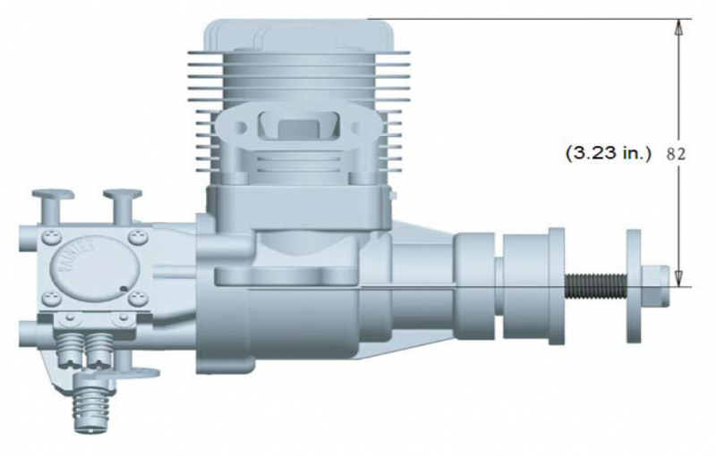 Image 5 of RCGF 15CC Gas Engine Beam Mount Version
