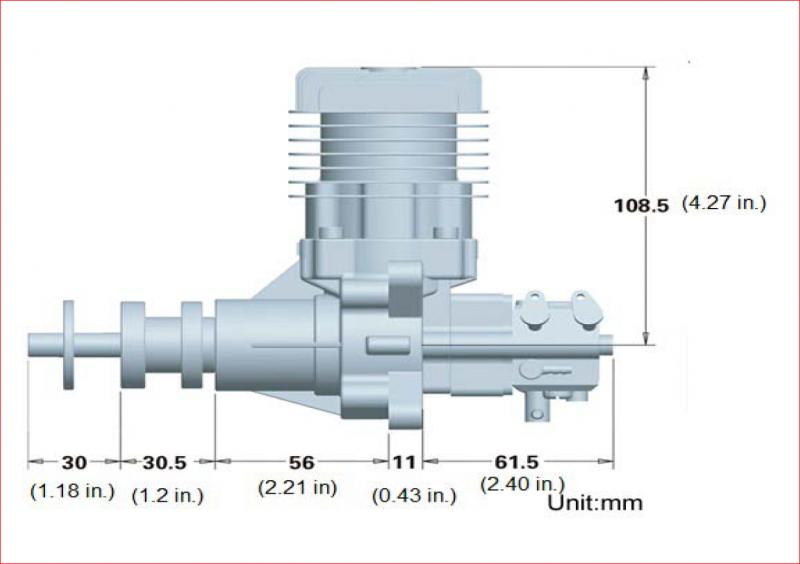 Image 4 of RCGF 32CC Gas Engine
