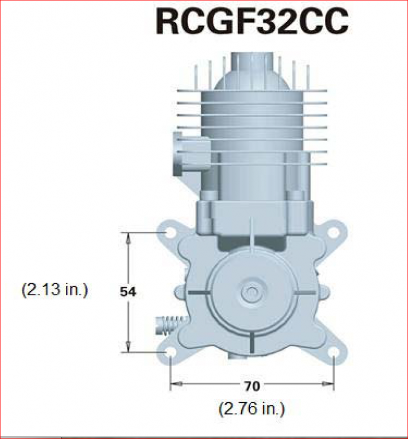 Image 5 of RCGF 32CC Gas Engine