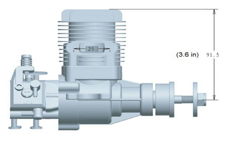Image 2 of RCGF 20cc SE-Stinger