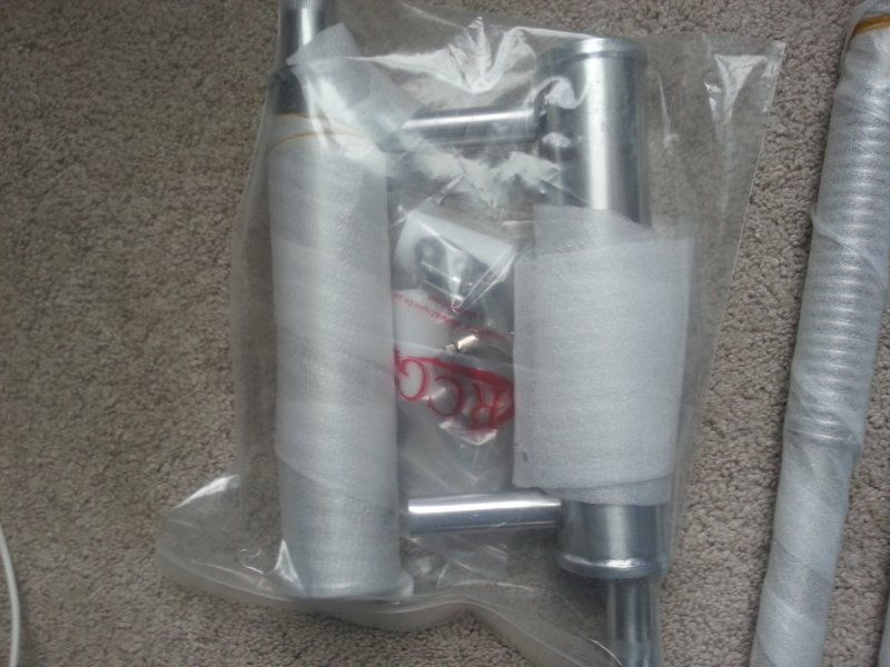 Image 1 of 120cc RCGF Canisters & Flex header set