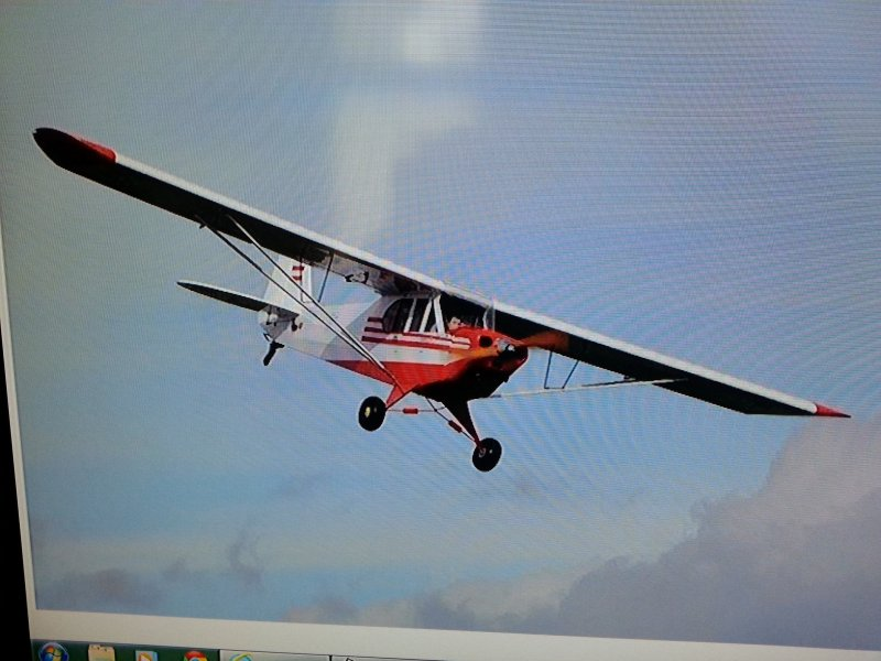 Image 1 of Super Cub 1/3 Red