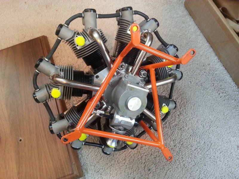 Image 3 of Robart R780 7cylinder Radial Engine