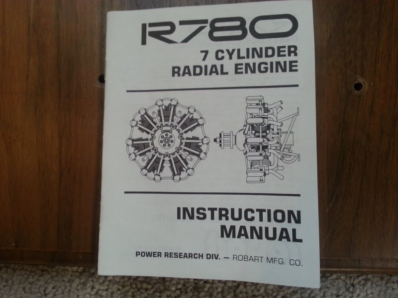Image 4 of Robart R780 7cylinder Radial Engine