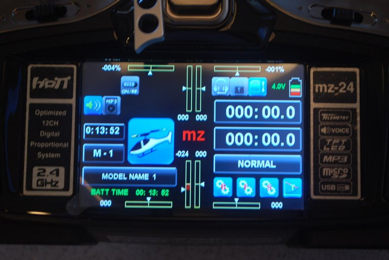 Image 6 of Graupner mz-24  12 Channel 2.4GHz HoTT 3.5
