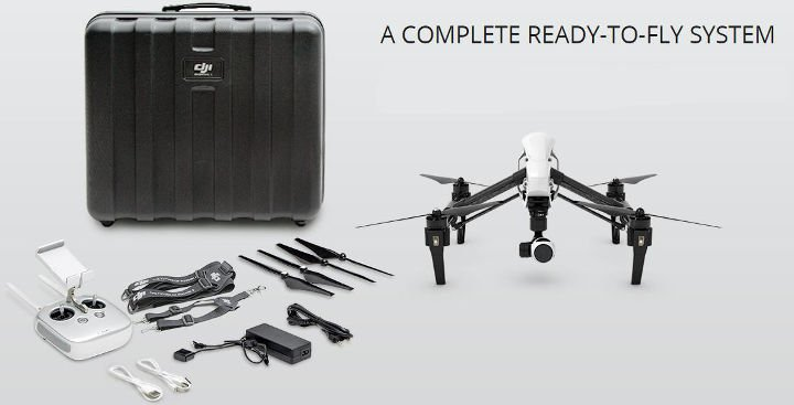 Image 0 of DJI DJI Inspire 1 V2.0 Quadcopter 4K Video (DJI Refurbished)