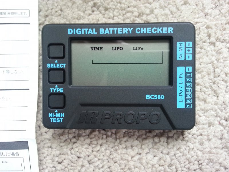 Image 0 of JR Digital Battery Checker-tester