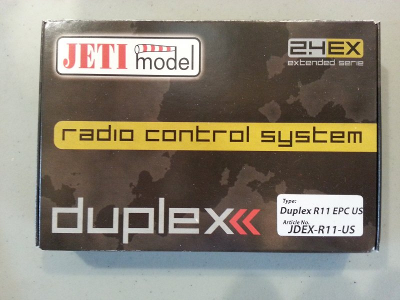 Image 0 of Jeti Duplex EX R11 EPC 2.4GHz Receiver w/Telemetry