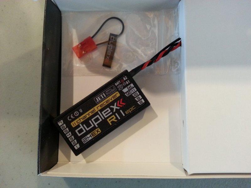 Image 1 of Jeti Duplex EX R11 EPC 2.4GHz Receiver w/Telemetry