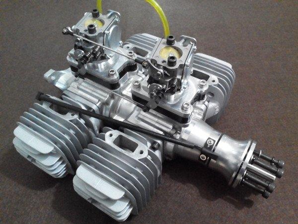 Image 0 of DLA 232cc 4 Cylinder Gasoline aircraft engine