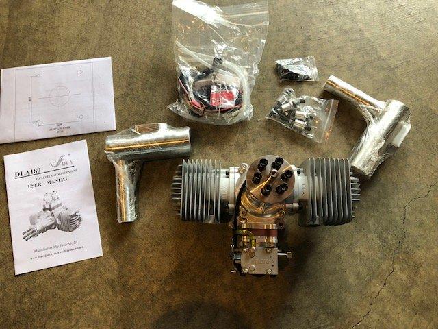 Image 0 of DLA 180cc Gasoline aircraft engine