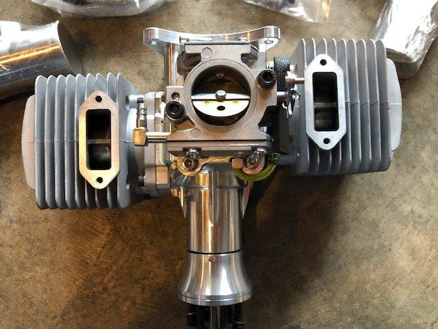 Image 4 of DLA 180cc Gasoline aircraft engine