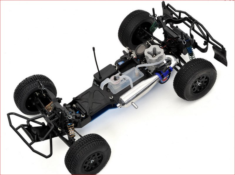 Image 3 of Team Associated SC10GT 1/10 Scale RTR Nitro Short Course Race Truck