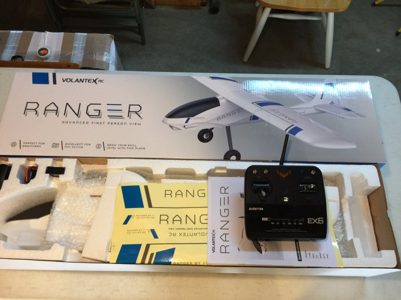 Image 3 of Volantex RC RANGER 1.4M FPV TRAINING PLANE, RTF W/ BATTERY AND CHARGER