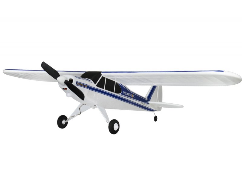 Image 0 of Volantex RC SUPER CUB 750MM SPORT PARK FLYER W/ BATTERY AND USB CHARGER