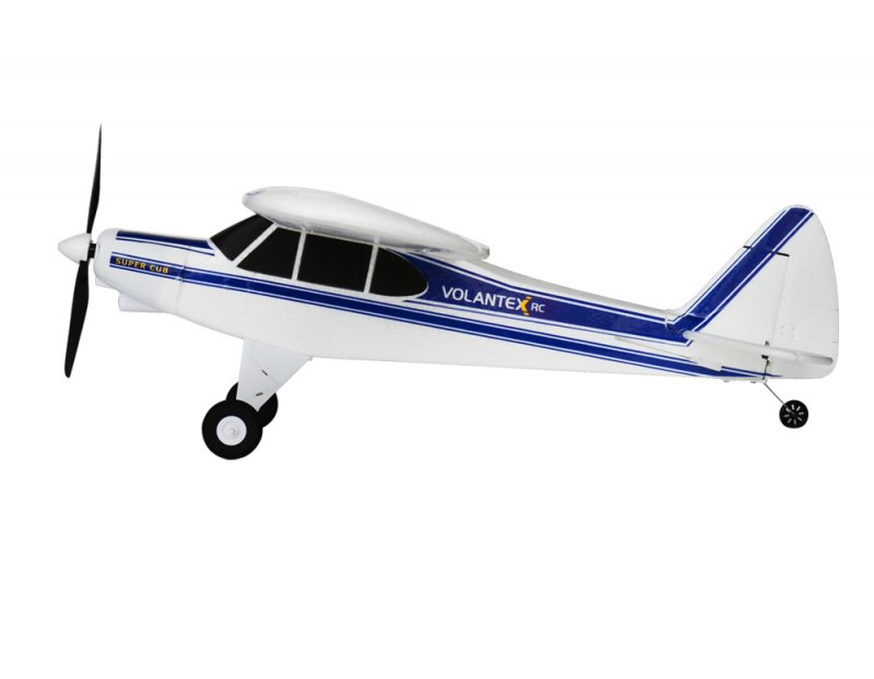 Image 1 of Volantex RC SUPER CUB 750MM SPORT PARK FLYER W/ BATTERY AND USB CHARGER
